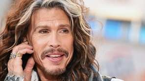 Steven Tyler performs on NBC's