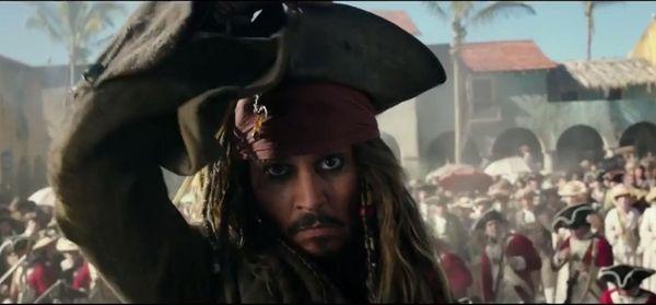 Johnny Depp returns as Captain Jack Sparrow in