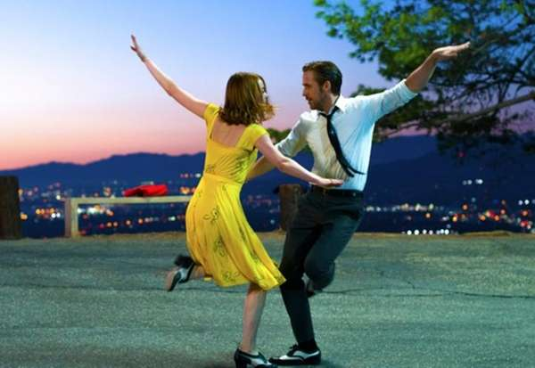Emma Stone and Ryan Gosling in