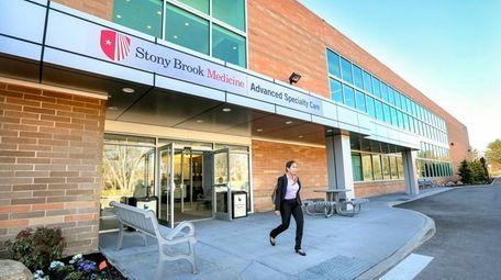 Stony Brook Medicine began taking patients at its