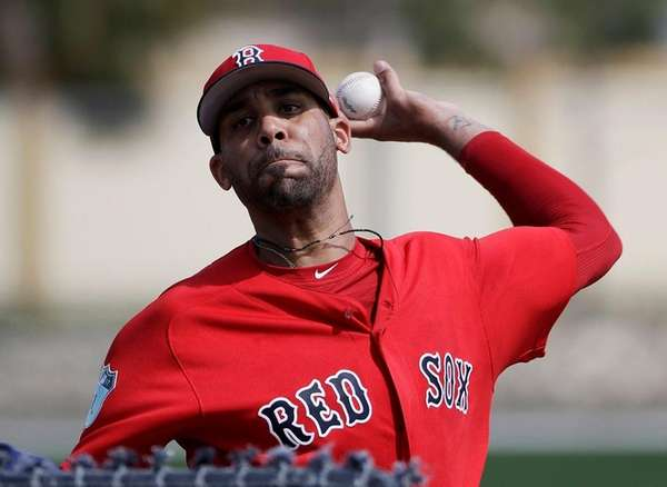 Boston Red Sox pitcher David Price was scratched