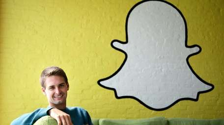 Snap Inc. co-founder and CEO Evan Spiegel in
