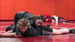 Team Alpha Girls Wrestling Club's Coach, Amber Atkins
