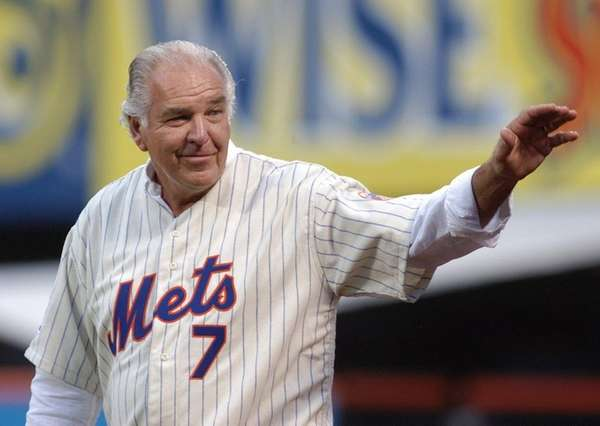 22 AUG 2009: Ed Kranepool, first baseman for
