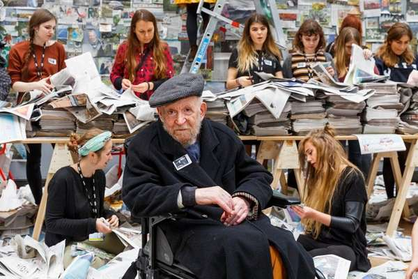 Students from Central Saint Martins respond to Gustav