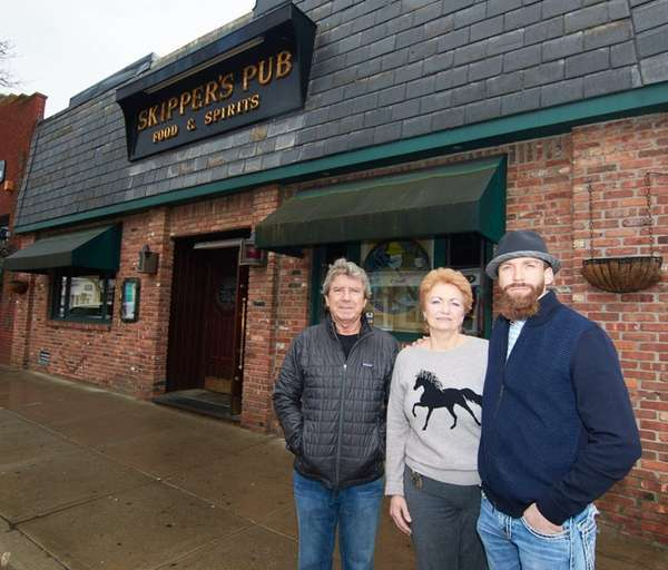 From left, Paul, Marie and Paul Jr. Gallowitsch,