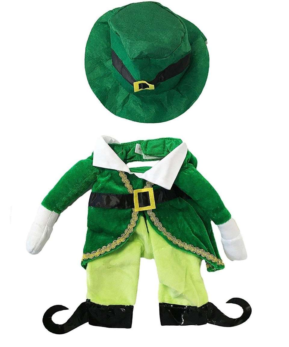 This Irish theme costume will have everyone green