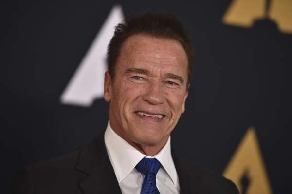 Arnold Schwarzenegger announced on Friday that he will