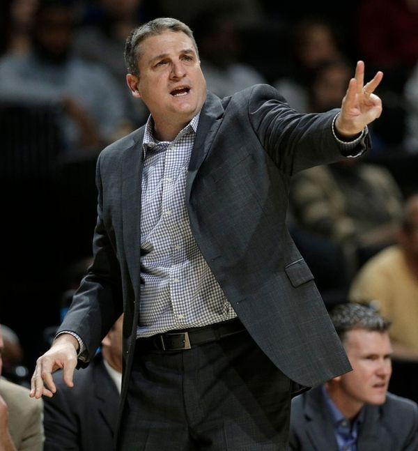 Boston College coach Jim Christian, here against Wake