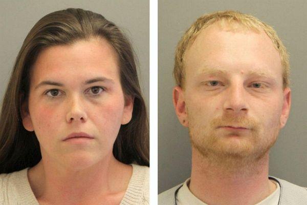 Brittney Schmidt, 30, left, and Vincent Fina, 29,