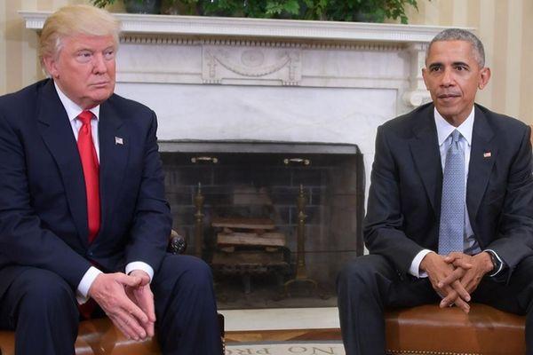 President Barack Obama meets on Nov. 10, 2016,