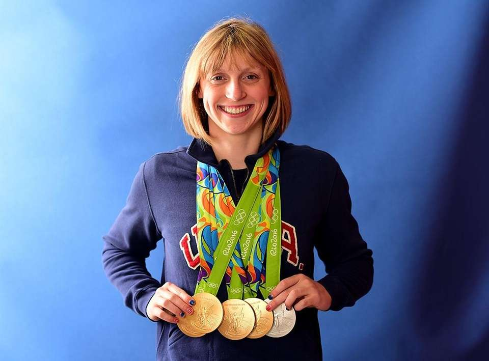Olympic gold medalist swimmer Katie Ledecky was born