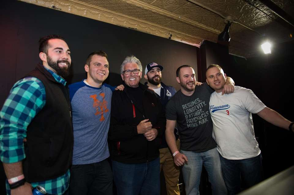 Radio host Mike Francesa's loyal fans gather to