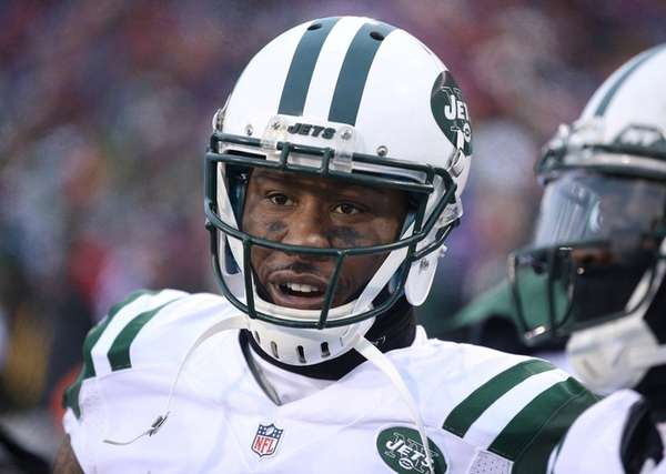 Brandon Marshall of the New York Jets looks