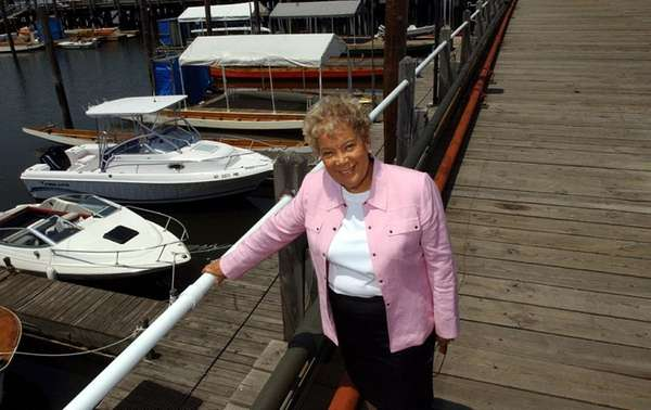 Queens Borough President Helen Marshall at the World