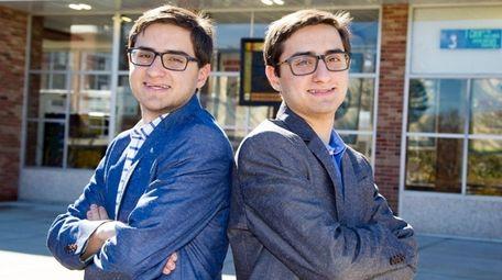 Twins Matthew, left, and Nicholas Rizzo of Locust