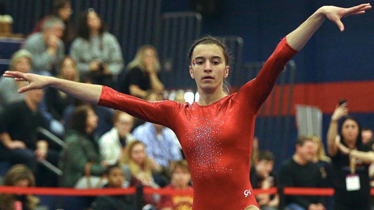 All-Long Island girls gymnastics