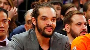 Joakim Noah #13 of the New York Knicks