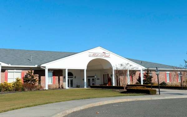 The Mill Pond Golf course main building at