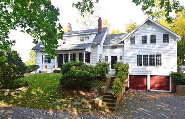 This historic Cold Spring Harbor home has been