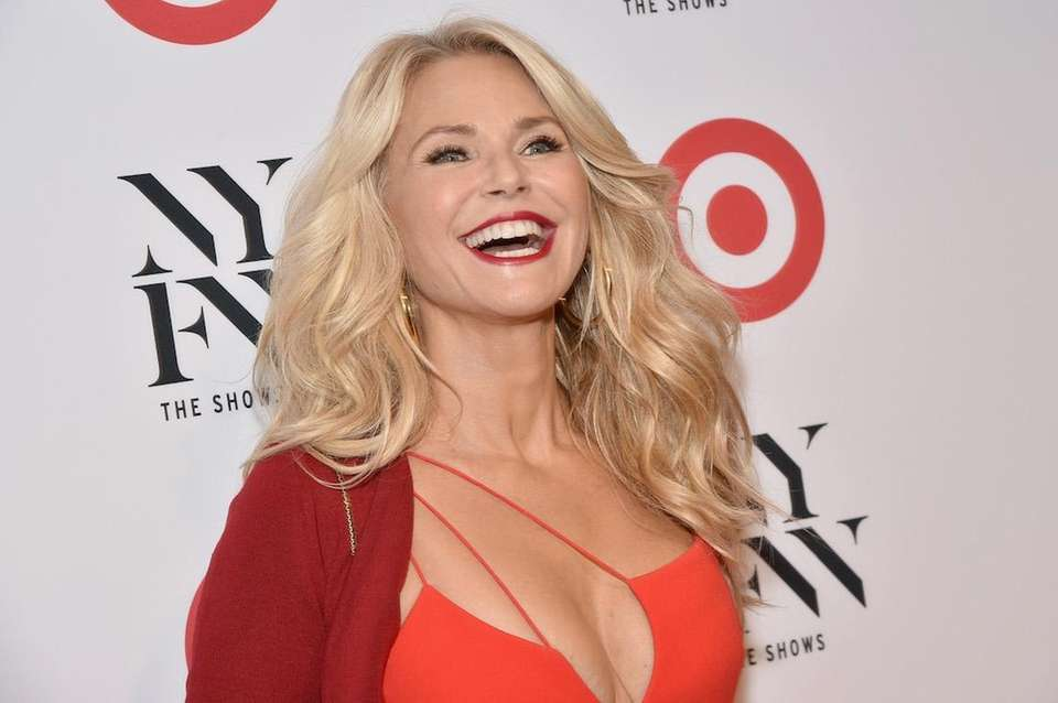 Christie Brinkley, model and former wife of Billy