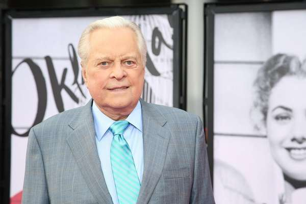 Robert Osborne served as the official greeter on