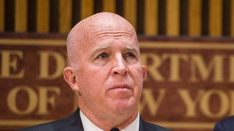 NYPD Commissioner James O'Neill said more than $20