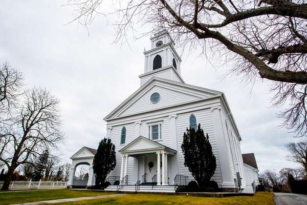 The Bridgehampton Presbyterian Church, shown on Dec. 28,