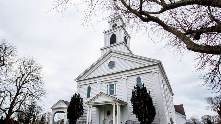 The Bridgehampton Presbyterian Church, shown on Dec. 28,