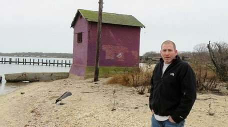 Greenport resident Christian McShea is leading an effort