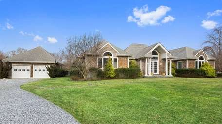 This four-bedroom home in East Hampton was owned