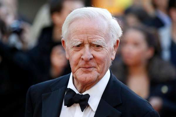 John le Carré, shown at the premiere of