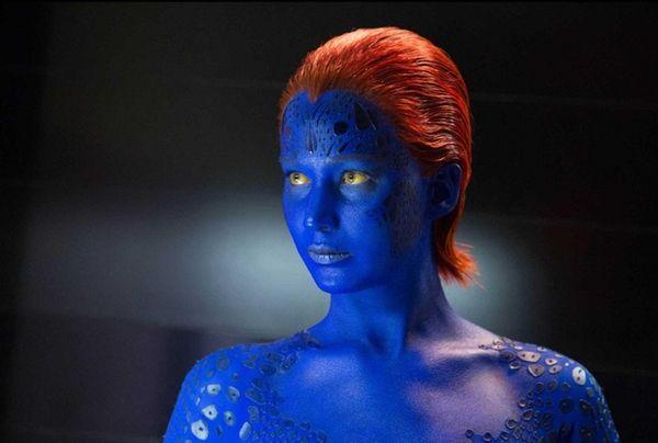 Jennifer Lawrence as Mystique in