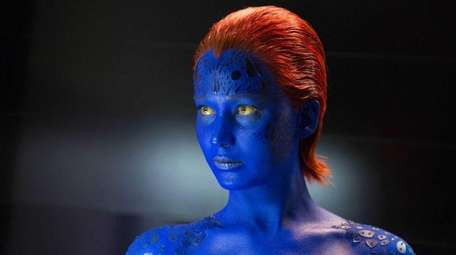Jennifer Lawrence as Mystique in