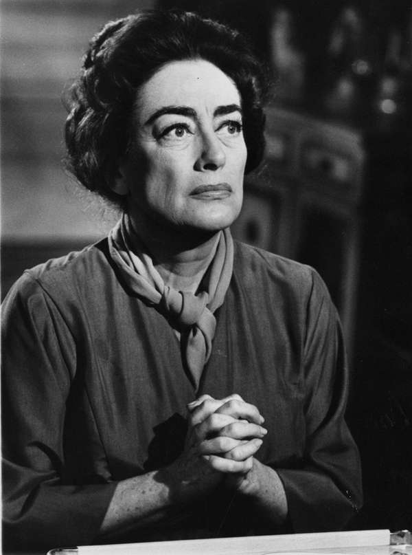 Joan Crawford revitalized her career with her role