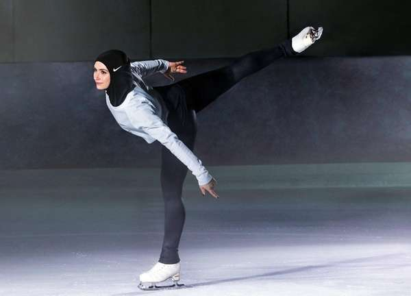 In this undated image provided by Nike, figure