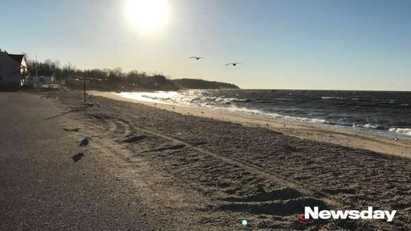 Southold Town Beach is disappearing after years of