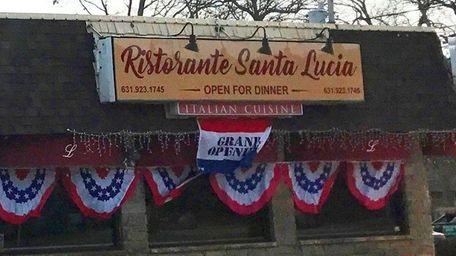 Santa Lucia Ristorante has replaced La Fontana in
