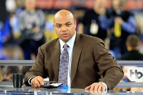 Charles Barkley at the NCAA Men's Final Four