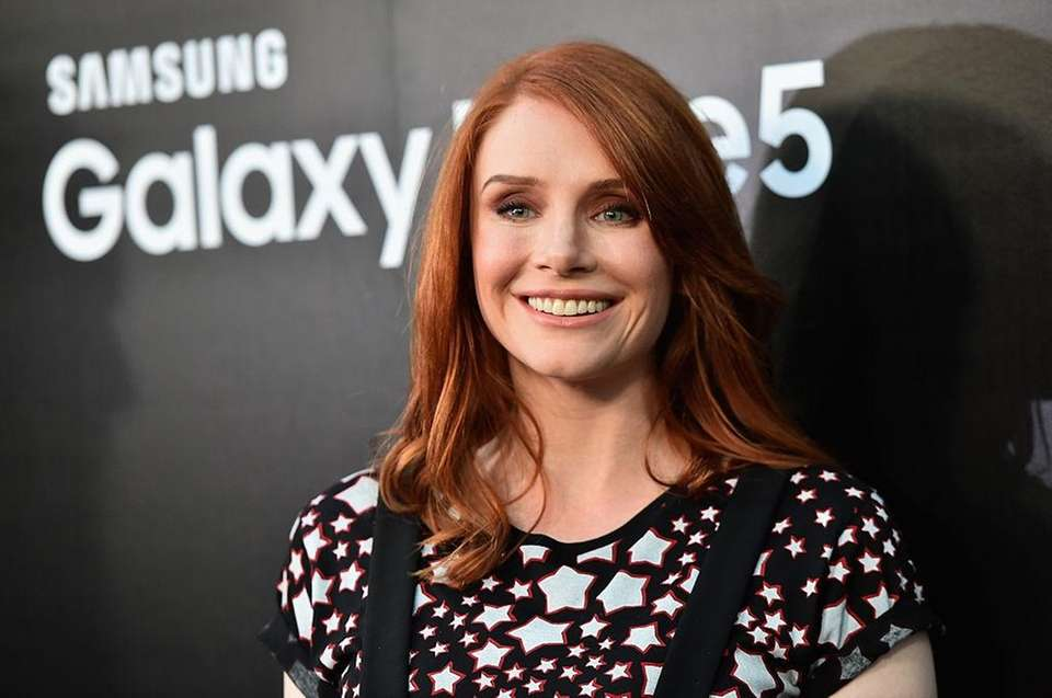 Actress Bryce Dallas Howard was born March 2,