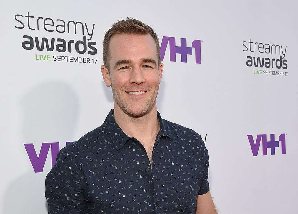 James Van Der Beek, who rose to fame
