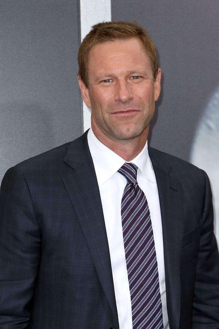 Actor Aaron Eckhart was born March 12, 1968.