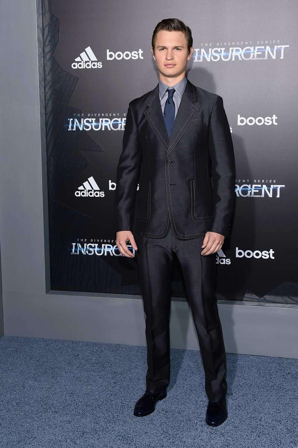 Ansel Elgort, who starred in
