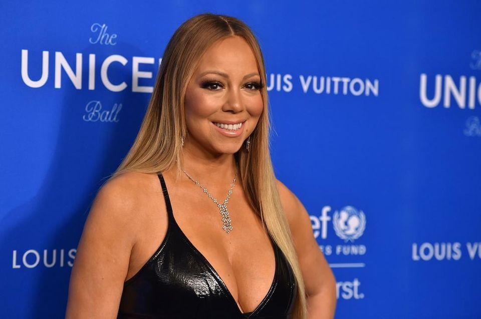 Singing diva Mariah Carey was born March 27,