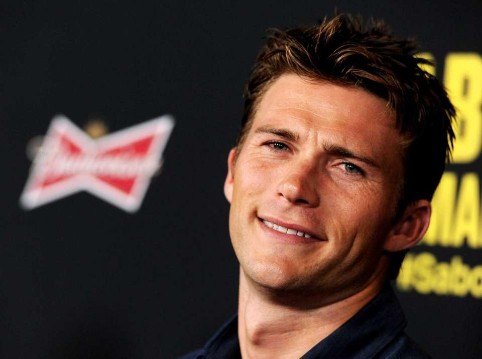 Actor Scott Eastwood, who is the son of