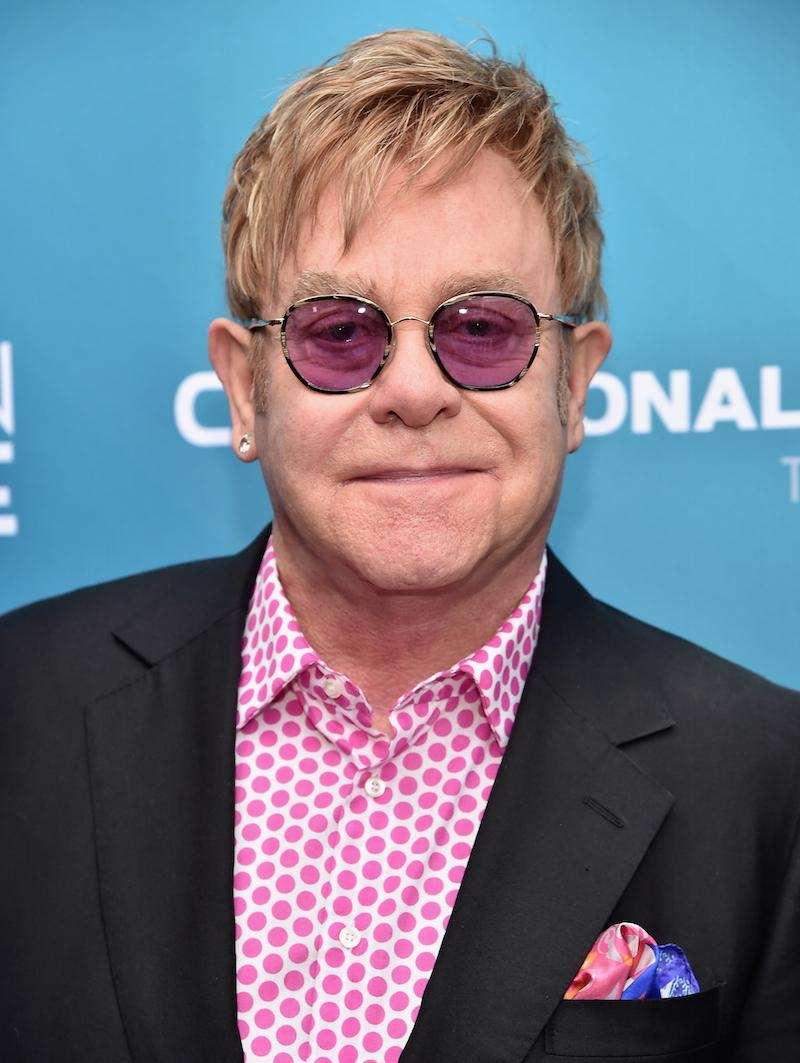 Singer-songwriter Elton John was born Reginald Kenneth Dwight