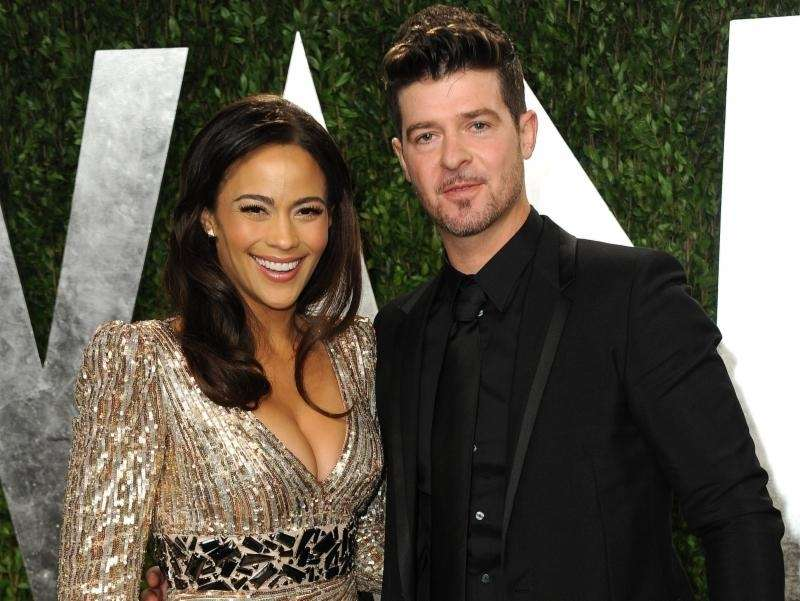 Actress Paula Patton and singer Robin Thicke divorced