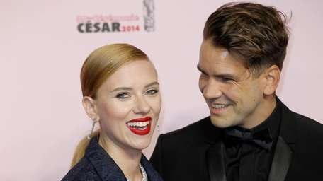 Actress Scarlett Johansson filed for divorce from her