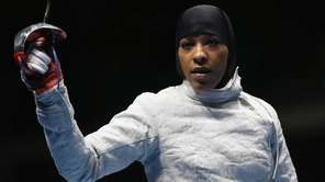 Muhammad became the first U.S. Olympian to compete