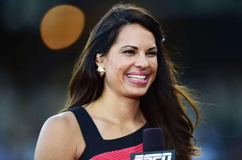 The former Olympic softball player became the first